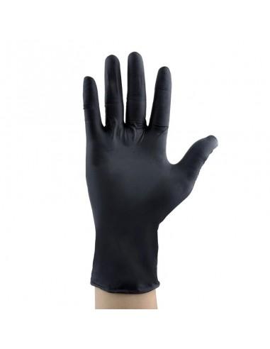 Rękawiczki jednorazowe nitrylowe